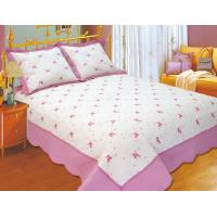China 100 Percents Polyester Embroidery Quilt Kits 220x240 / 240x260cm Large Sizes on sale