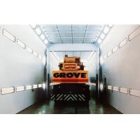 China Industrial Spray Booth 2-folds Door , Infrared Paint Baking Oven 220V on sale
