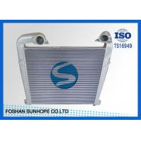 Best Scania R04 High Performance Intercooler Alloy Tapered Tanks OEM 1766617/1795730 wholesale