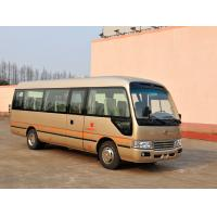 Best ISUZU Diesel Engine Coaster Minibus Passenger City Rider Bus Straight Beam Framework wholesale