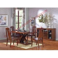 Best Luxury Design for Solid Wooden Furniture Dining Room Set wholesale