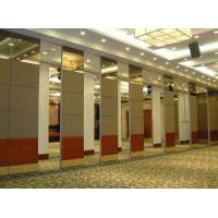 Best Multi Color Acoustic Partition Wall for Conference Hall Aluminium Sliding Track Roller wholesale