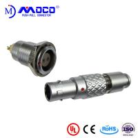 Cheap 0B 2 pin male and female circular push pull connector for Infrared Camera for sale