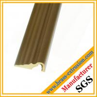 Best stairway floor brass extrusion profiles sections for brass threshold covers wholesale