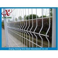 Best Galvanized Steel Pipe Fence For Sport Field / Wrought Iron 3d Fence Panel wholesale