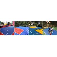 Outdoor basketball flooring interlocking outdoor basketball court flooring plastic sport court tiles