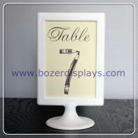 Best Place Card Holder-Sign Holder-Table Number Holder, Wedding, Party, Buffet wholesale