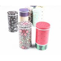 China D67-68mm Small Round Metal Tin Can With Double Sides Customized Logo Print. wholesale