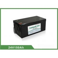 Best 24V 150Ah LiFePO4 Electric Forklift Battery Deep Cycle Over 2000 cycles @ 100 % DOD wholesale