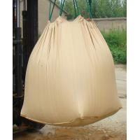 China Sand Yellow PP Big Bag FIBC Flexible Intermediate Bulk Container Moisture Proof wholesale