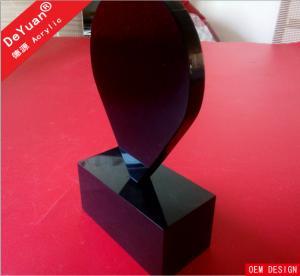 China Lighting Acrylic Menu Holders / Organic Glass Brochure Display Stands on sale