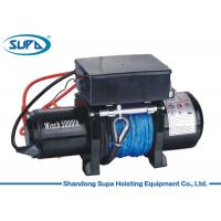 Best Labor Saving Electric Winch Hoist 12V Voltage 3 Stage Planetary Gear Train wholesale