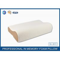 Best High Density Slow Recovery Cervical Memory Foam Contour Pillow With Soft Cover wholesale