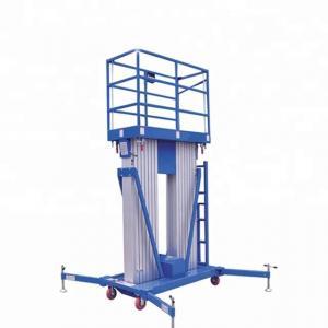 Best 21m Height Order Picker Platform , Aluminum Work Platform Double Mast wholesale