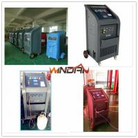 Best 97% Recovery Rate A/C Refrigerant Recycling Machine with Refill New Oil , Refrigerant Recovery Equipment wholesale