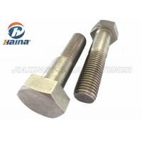 China Stainless Steel Bolts DIN931 SS304  SS316 M6-M64 Hex Head Bolts on sale