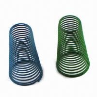 Best Color-plated Compression Springs, Metal Springs Manufacturer, Customized Orders Accepted wholesale