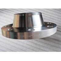 China 321 321H Stainless Steel Weld Neck Flange Normalizing Heat Treatment on sale