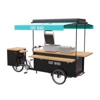 Best Europe Style Burger Food Cart 150KG Load Capacity CE Certification wholesale