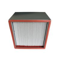 Buy cheap Food / Beverage High Temperature Electronic Air Filter Silicon Free Construction from wholesalers