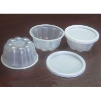 Best 120ml Disposable Ice Cream Cups With Lid Plastic Octagon Bulb 4oz wholesale