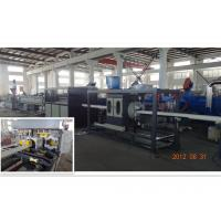 Best UPVC / CPVC / PVC Pipe Extrusion Line Saving Energy Conical Double Screw wholesale