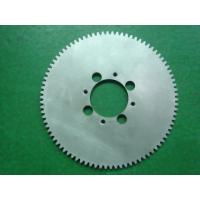 China Carbon Steel C45 / 20CrMnTi / 40Cr Precision Gears , Big Modulus Worm Spur Gear on sale