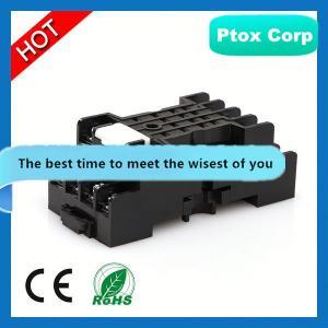 China 2014 Hot Sale Mini Motive 4 Pin or 5 Pin Car Ceramic Relay Socket for 12V auto relay socket on sale