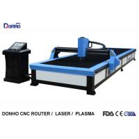 Best Start Control CNC Plasma Cutting Table , Plasma Cutting Equipment For Stainless Steel wholesale