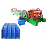 Best roofing sheet profile crimping curving arch roll forming machine wholesale