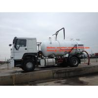 China SINOTRUK HOWO Sewage Suction Truck 10000L-15000L 4X2 6 Wheels Liquid Waste Trucks on sale
