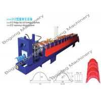 Best Metal Sheet Ridge Cap Roll Forming Machine wholesale