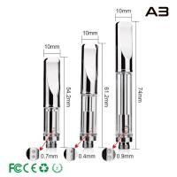 Best Dual Coils CBD Vaporizer Cartridge A3 , Thick Oil Cartridge Huge Vapor 0.3ml 0.5ml 1.0ml wholesale