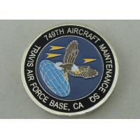 Aircraft Maintenance SQ Personalized Coins By Zinc Alloy Die Casting