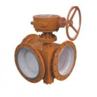 Best 3 inch Electric Flanged Butterfly Valve / 3 Way Butterfly Valve For Gas , 150LB - 1500LB wholesale