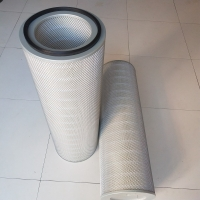 Best 0.3 Micron Air Dust Cartridge Filter For Air Purification System 972m³/Hour Limit Traffic wholesale