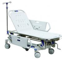 Cheap Luxurious Manual Adjustable Hospital Beds With Side Rails For Patient Healthcare for sale