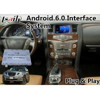 Best Android 6.0 Video Interface GPS Navigation for 2012-2017 Nissan Patrol wholesale