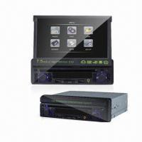 Best 7.5-inch In-dash Car DVD Player with MPEG-4, Game, AM, FM, Card Reader and USB Function wholesale
