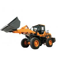 Best Steel Yellow Compact Wheel Loader , Articulated Backhoe Loader High performance wholesale