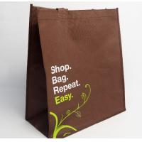Buy cheap high quality Promotional custom shopping bags non woven bag with print logo from wholesalers