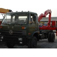 Buy cheap High Efficiency 5 Ton Light Truck Loader Crane , Knuckle Cargo Crane Truck product