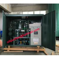 China Advanced Type Technology Transformer Oil Filtration Equipment, Insulation Oil Dehydrator,Degasfier Vacuum Clean system on sale