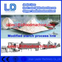 Best 304 Stainless Steel Automatic Modified Starch extrusion Machinery wholesale