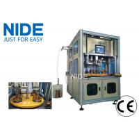 Four working station automatic stator winding and coil inserting machine