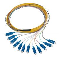 China Fan-out Fiber Optic Pigtails Fiber optic assembly FTTH fast connector Quick Connector on sale