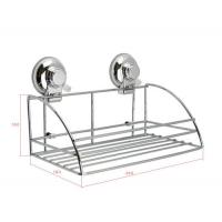 Best SUS304 CHROME Suction Cup Collection Shower Caddy wholesale