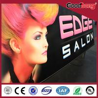 Cheap Outdoor advertising acrylic billboard construction construction for sale