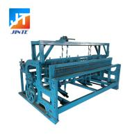 China Supply New type Semi-automatic crimped wire mesh machine for mine sieve mesh on sale