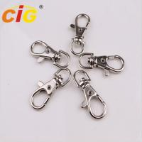 Best Snap Clasp Hook Nickle Plated Garments Accessories Lobster Claw Swivel Clasps wholesale